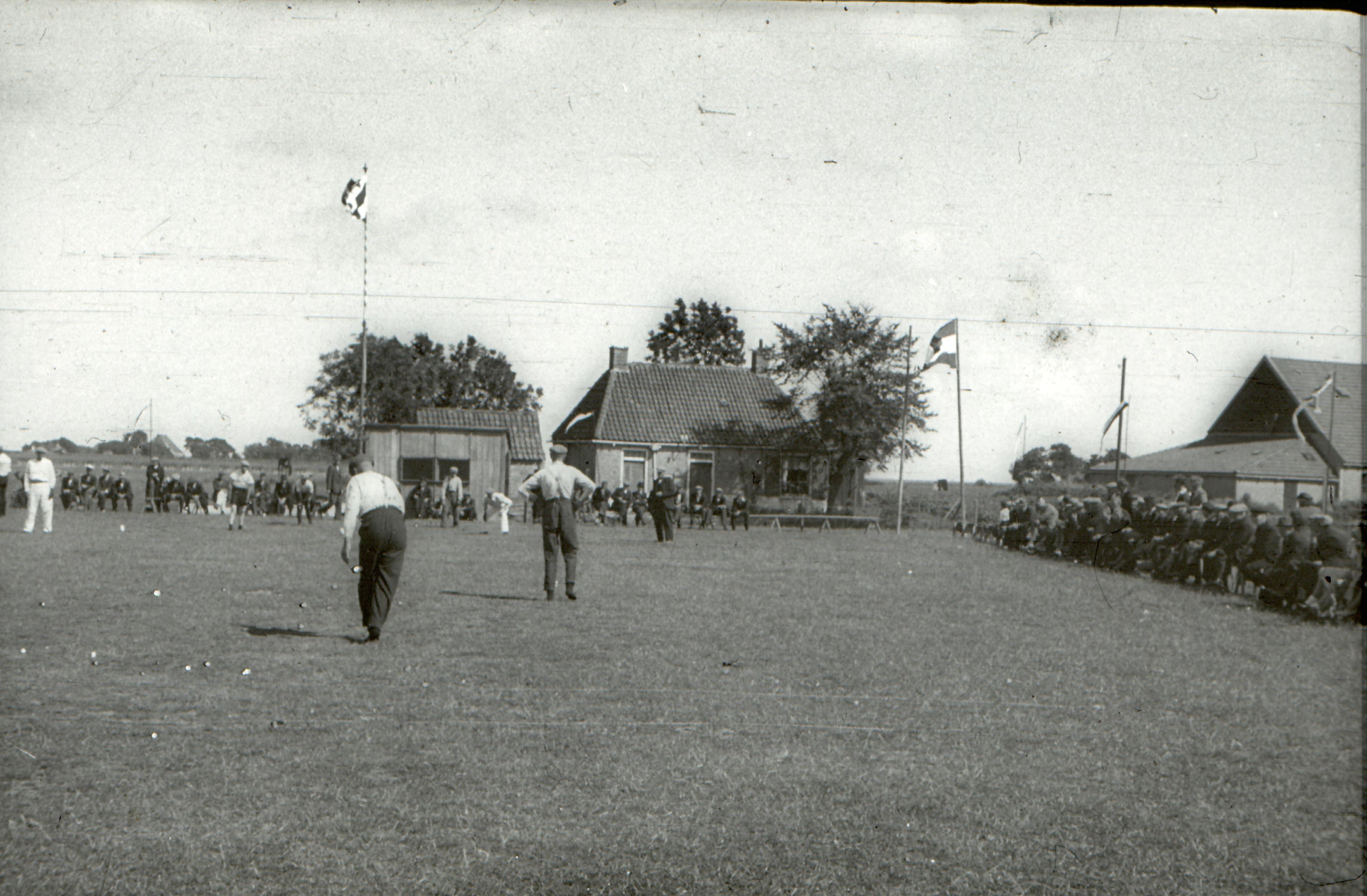 Kaatsveld en huis Rutten