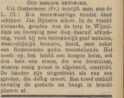 Dit bericht is van 9 februari 1912